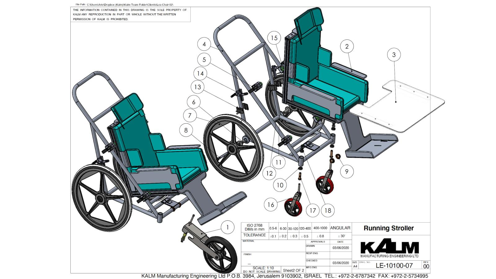 Kalm Projects (17) Custom Made Wheelchair